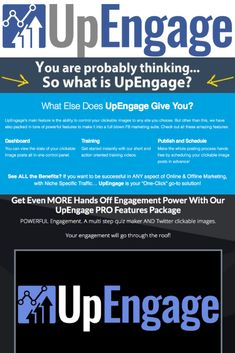 UpEngage Software by Ali G – The Only Cloud-Based Marketing Platform Of Its Kind That Will Never Ask You To Spend More Money On Ads Or Boosted Post To Get The Results You And Your Clients Desire #upengage #facebooksoftware #internetmarketing