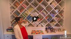Mommy Blog: Reading Is So Important | Kourtney Kardashian    Love the bookshelf!