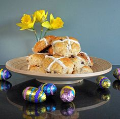 Choc-Cross Buns (glu