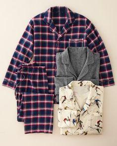 Men's Signature Flannel Pajamas - Garnet Hill