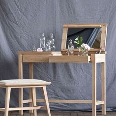 The HomePort Collections // Takara Elm Dressing Table