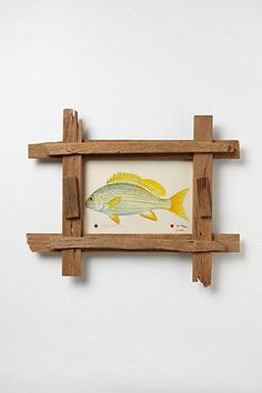 DIY this frame - Off The Dock Painting #anthropologie