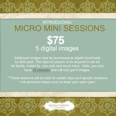 micromini sessions