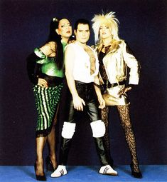 Freddie Mercury, Roger Taylor and Peter Straker in promos for The Great Pretender from Queen Photos