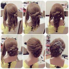 Hair Styles – Hair Care Tips and Tricks Kashees Hairstyle, Bride Hairstyles, Pretty Hairstyles, Easy Hairstyles, Popular Hairstyles, Peinado Updo, Stylish Hair, Hair Dos, New Hair