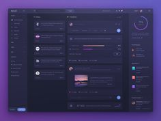 Dashboard UI design  by uixNinja