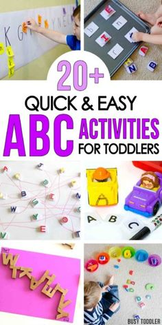 ALPHABET ACTIVITIES FOR TODDLERS: Check out these awesome alphabet activities for toddlers and preschoolers; learn the alphabet with sensory activities; alphabet learning with quick and easy indoor activities; learning letters with fun outdoor activities Alphabet Activities Kindergarten, Art Therapy Activities, Letter Activities, Toddler Learning Activities, Learning Letters, Literacy Activities, Kids Learning, Educational Activities, Letter Worksheets