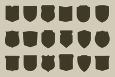 Working on a new badge or logo project? May I submit a fine selection of hand illustrated shields with which to anchor your new design? This thirty illustration pack is at your service to provide a large selection of shields...