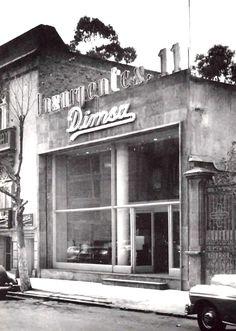 Edificio comercial, Insurgentes Sur 11, Col. Juárez, México DF 1952 Arq. Joaquín Sánchez Hidalgo - Commercial building, Insurgentes Sur 11, Col. Juarez, Mexico City 1952