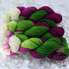 Fireweed is in stock and available on 5 sock yarn bases, worsted & thick&thin yarns!!!