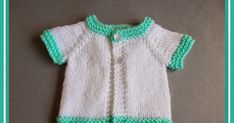 This easy baby sweater knitting pattern is too cute! This Contrast Trim Preemie Baby Cardigan is designed to fit premature babies and includes patterns for small, medium, and large premature sizes. Baby Knitting Free, Baby Cardigan Knitting Pattern Free, Baby Sweater Patterns, Easy Knitting, Baby Knitting Patterns, Crochet Patterns, Cardigan Pattern, Knitting Ideas, Preemie Clothes