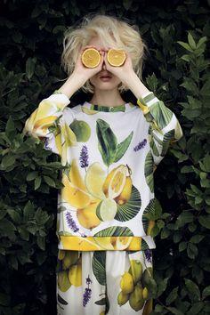 Eleonora Carisi collection What's Inside You #ss14 Lemon total look #eleonoracarisi #whatsinsideyou Photo Sara Mautone