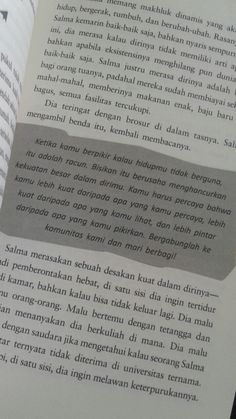 Book Qoutes, Words Quotes, Me Quotes, Tweet Quotes, Daily Quotes, Cinta Quotes, Quotes Galau, Quotes From Novels, Postive Quotes