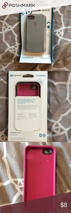 SPECK iPhone 5s phone case Pink and Grey phone case, fits iPhone 5s speck Accessories Phone Cases
