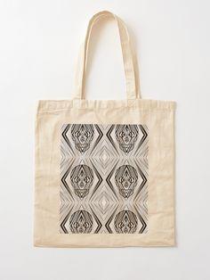 """IBTM'CIHTI"" Cotton Tote Bag, print design by Asmo Turunen. #design #totebag #shoppingbag #kestokassi #kangaskassi #atcreativevisuals"