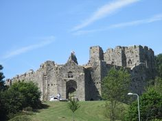 Oxwich Castle, The Mumbles, Wales.