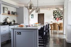 My clients beautiful home in Herefordshire featured in English Home magazine. Stunning use of materials, textures and colours to the suit the country home and surroundings. Interior design in Herefordshire- www.samanthathomasdesign.com