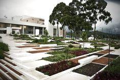 PAM - groen plein - Julio Mario Santo Domingo Library Park - Diana Wiesner Arquitectura y Paisaje