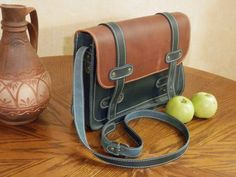 Great gift for best friend. Messenger Bags – Handmade Messenger bag, Leather Crossbody bag – a unique product by Alexander-Babak via en.DaWanda.com