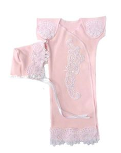 Stunning Pink Lace Preemie Gown Set (Small... #gifts #easter