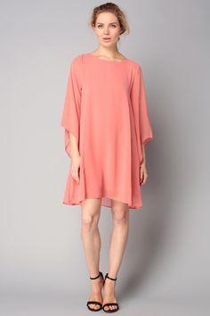 Short/Knee length dress - opera - Orange/Coral