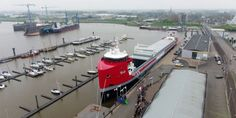 Spotted+Video: New EasyMax Christened by Wagenborg