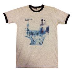 Amazon.com: Bkkplaytown Radiohead T Shirt Rock Band Ok Computer J311: Clothing