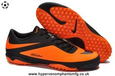 on sale 823c9 4065f New (Black Citrus) Phelon TF Nike Hypervenom Adidas Football, Football Shoes ,
