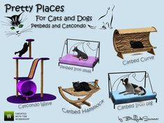 My Sims 3 Blog: BuffSumm's Pretty Places for Cats and Dogs