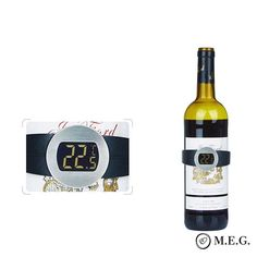 Serving wines at their optimum temperature enhances their aroma and quality or simply gives justice to their true colors. Easy to Operate: You can easily monitor the temperature of your favorite wine just by putting the thermometer on the bottle (fits like a bracelet) Instant Readout: You can get the temperature wi Office Gadgets, Latest Gadgets, Flip Clock, True Colors, Wines, Kids Toys, Monitor, Household, Canning