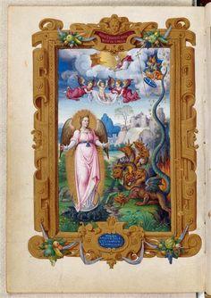 Heures du connétable Anne de Montmorency : Femme de l'ApocalypseCOTE CLICHÉ01-005384N° D'INVENTAIREMs1476-folio36versoFONDSMiniatures Et EnluminuresDATE1549