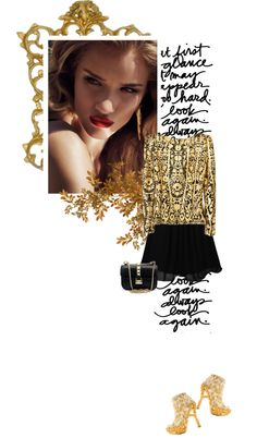"""""""Nocturnal"""" by crazydita ❤ liked on Polyvore"""