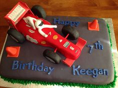 French vanilla with raspberry filling, cheesecake icing and covered in fondant. Ferrari Cake, How To Make Wedding Cake, Raspberry Filling, Novelty Cakes, French Vanilla, F1, Big Day, Fondant, Icing