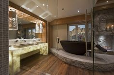 Bathroom Interior Design Ideas - 20 Stunning Interior Design Ideas -- light up bathroom counter