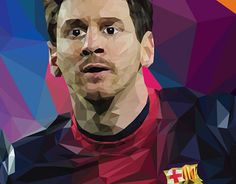 """Check out new work on my @Behance portfolio: """"Low Messi"""" http://be.net/gallery/36927847/Low-Messi"""