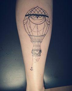 My first air balloon i did today Not yet finished #airballoon#airballoons#Tattoo#tattoos#tattooartist#tattooedgirls#airballoontattoo#Ink#stencilstuff#artist#instatattoo#instatattoos#instaink#doriblossom#blackballoon#Art#artworker#artwork#sunday#autumn#fun#ilovetattoos#work#tattooed#tattooart#balloons#