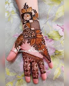 Mehndi is used for decorating hands of women during their marriage, Teej, Karva Chauth. Here are latest mehndi designs that are trending in the world. Latest Henna Designs, Floral Henna Designs, Full Hand Mehndi Designs, Mehndi Designs 2018, Mehndi Designs For Beginners, Mehndi Designs For Girls, Mehndi Design Photos, Wedding Mehndi Designs, Mehndi Designs For Fingers