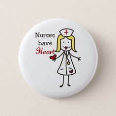 Nurses Have Heart Pinback Button Rock Painting Ideas Easy, Rock Painting Designs, Stone Crafts, Rock Crafts, Crafts For 3 Year Olds, Inspirational Rocks, Nurse Art, Fun Easy Crafts, Chakra Colors