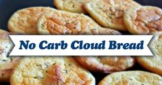 Want bread without all the carbs? Check out this delicious no-carb cloud bread that you can make using only 4 ingredients!