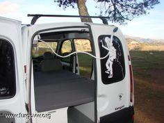 [RENAULT Kangoo] POR FIN TERMINE MI FURGO A VER QUE OS PARECE Mini Camper, Camper Van, Holden Caulfield, Van Life, Berlingo Camper, Kangoo Camper, Vw T4, Van Interior, Motorhome