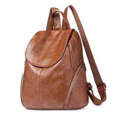 ac22922cacd6 Golden Finger Rivet Nubuck Bag. Tote BackpackLeather BackpackTravel  BackpackFashion ...