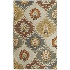 $175 at Pier 1 Imports Cool Ikat Area Rug - Blue