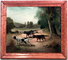 English Country picture portrait oil