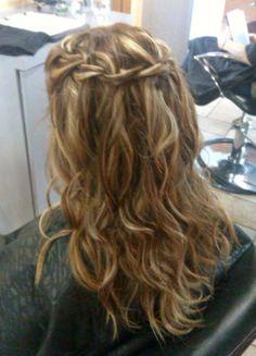 Bridesmaid's Hair