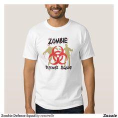 Zombie Defense Squad T-shirt