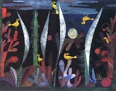 Paul #Klee – #Landscape with #yellow #birds, 1923.