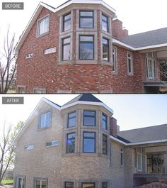10 best Residential brick staining images on Pinterest | Brick block ...