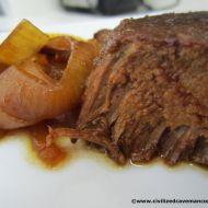 Crockpot Balsalmic Roast #paleo