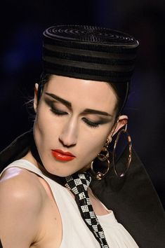 Jean Paul Gaultier, Spring 2016 - The Most Unique Runway Jewelry of Spring 2016 - Photos