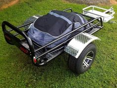 Rally Wagon Motorcycle Trailer | Pull Behind Motorcycle Trailer #TheUSATrailerStore #trailerlove